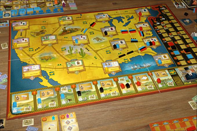 Railroad Revolution Le jeu